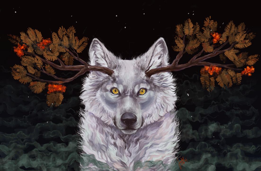 White Wolf by jasmiri