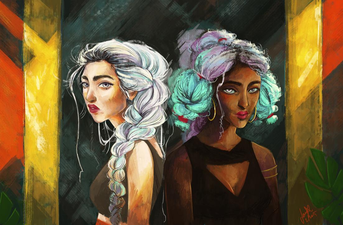 Gurls by jasmiri