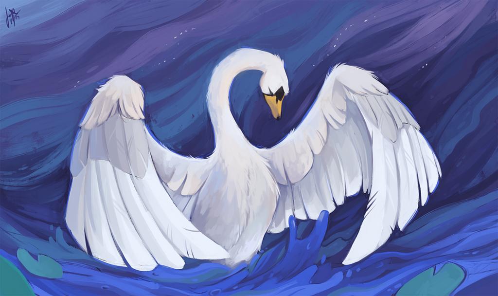 Swan by jasmiri