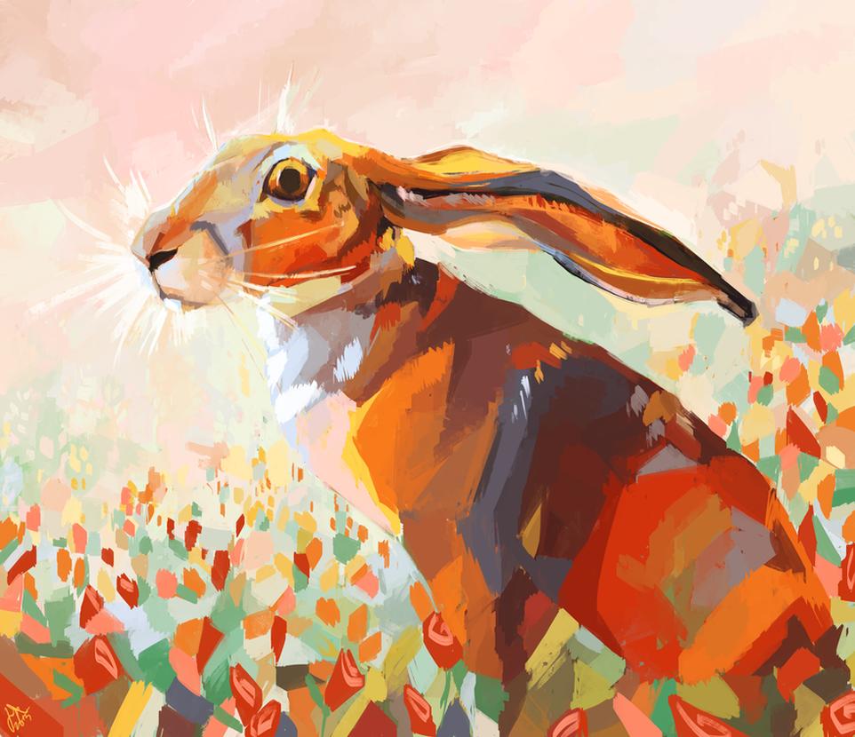 Hare by jasmiri