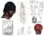Tribute to Topaz by AzizlaSwiftwind