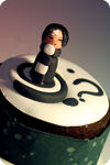 Pyro's cake by I-am-Ginger-Pops
