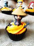 Itachi cupcake