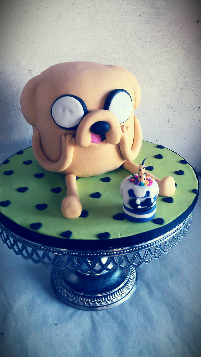 Jake the dog (Adventure Time) by I-am-Ginger-Pops