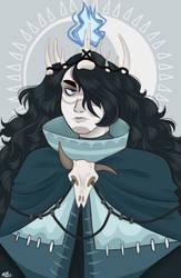 {God of Death} by elfiebean