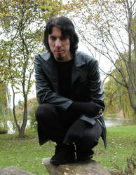 Goth guy 1 by Demonikastock