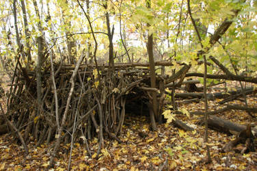 stick house 2 by Demonikastock