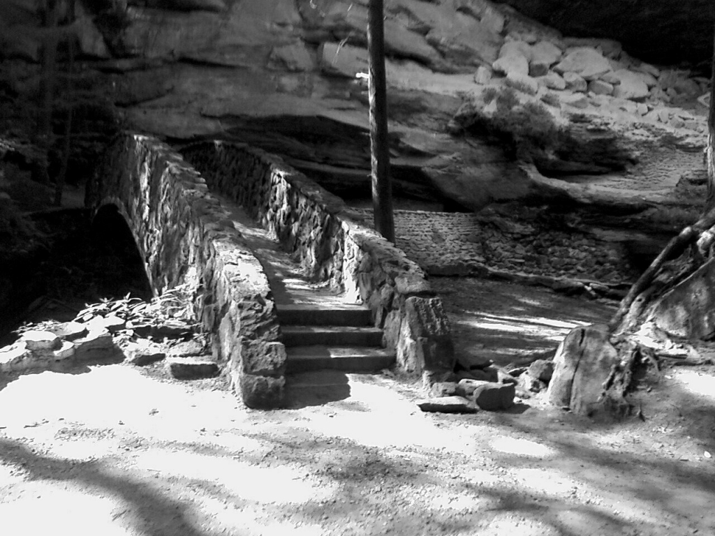 Man Caves Ni : Black and white old man's cave photo ohio summer by sugaree 33 on