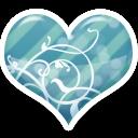 Soft Blue Heart by Sugaree33-Art