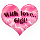With Love Gigi by AudraMBlackburnsArt