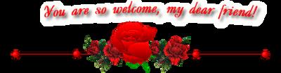 Roseborder Welcome by Sugaree33-Art