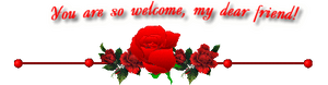 Roseborder Welcome