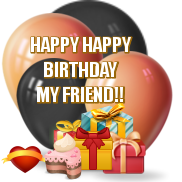 Happy Happy Birthday Masculine by AudraMBlackburnsArt
