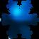 Snowflake BLUE by AudraMBlackburnsArt