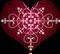 Burgundy Heart Fancy by Sugaree33-Art