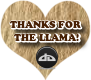 tHANKS FOR THE LLAMA TWO by AudraMBlackburnsArt