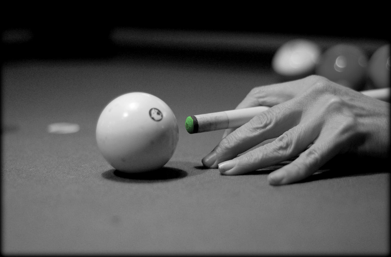 Don't Get Behind the 8 Ball by AudraMBlackburnsArt