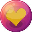 Heart-orange-1-icon by AudraMBlackburnsArt