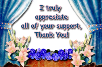 I appreciate your support by AudraMBlackburnsArt