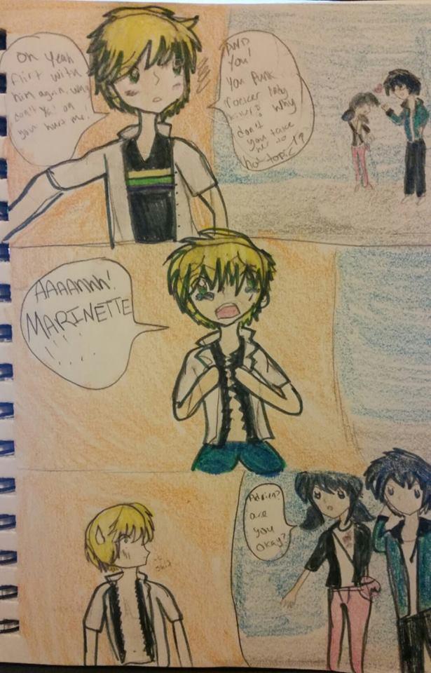 Jealous Adrien by princesskisa