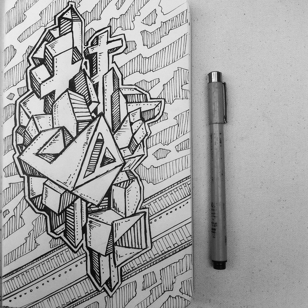 Abstract 3d Doodle By Nikitagrabovskiy On Deviantart