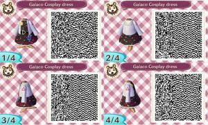 Vocaloid3 Galaco cosplay QR codes