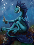 Elequi-Shi: Water Dragon