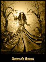Goddess of Autumn by xxravenwolfxx