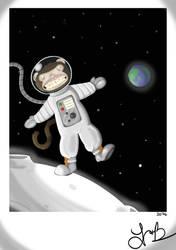 Jangles (The Moon Monkey) by IrkenArmada42