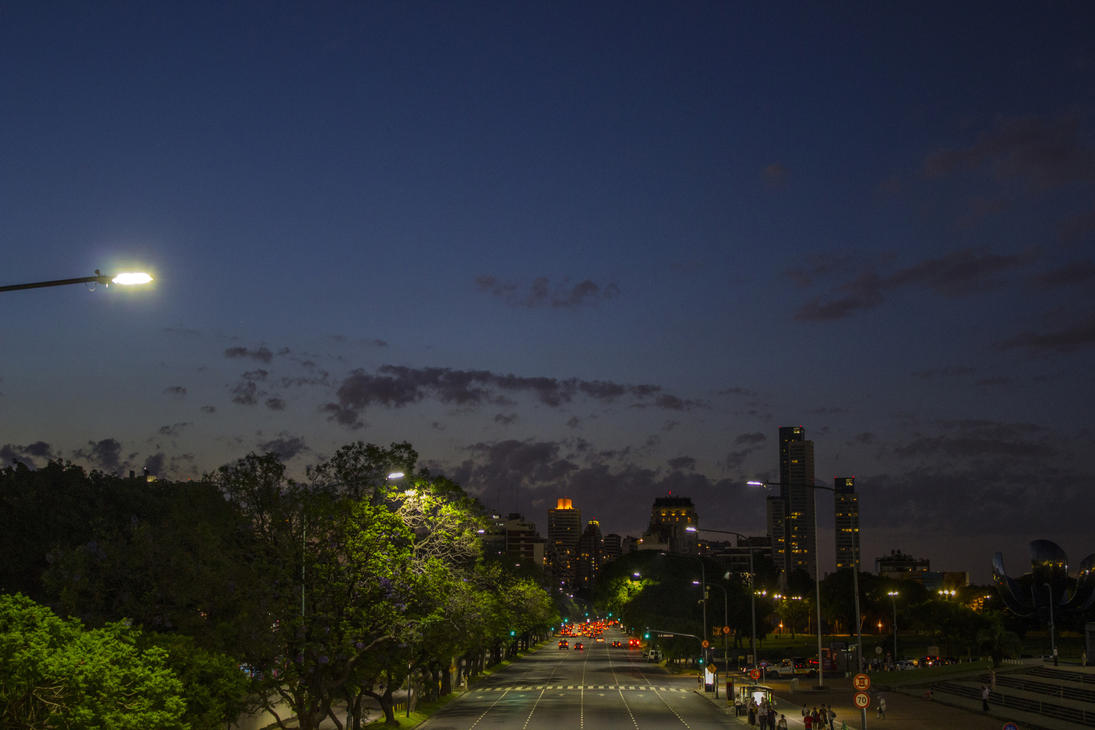 Recoleta Sunset by nightmareccs