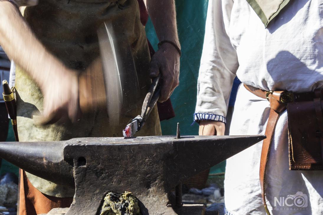 Blacksmith by nightmareccs
