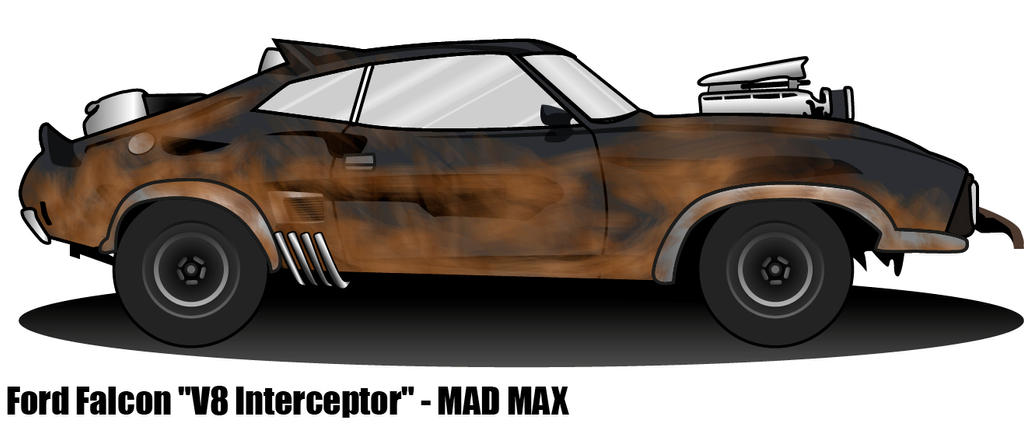 Interceptor - Mad Max by nightmareccs