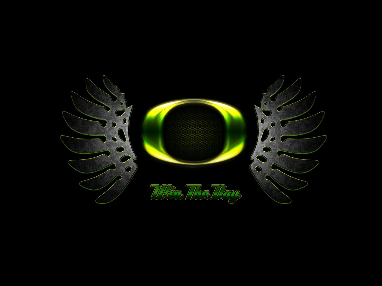 Oregon Duck Wings By ZelnickDesigns