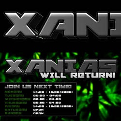 XANIAS TWITCH BANNER by ZelnickDesigns