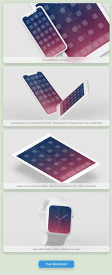 FREE Wallpaper Set ''Milky Way'' Edition: Dusk