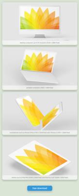 FREE Wallpaper Set ''Seasons'' Edition: Summer
