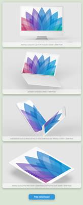 FREE Wallpaper Set ''Seasons'' Edition: Winter