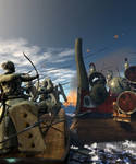 Salamis Battle by kosv01