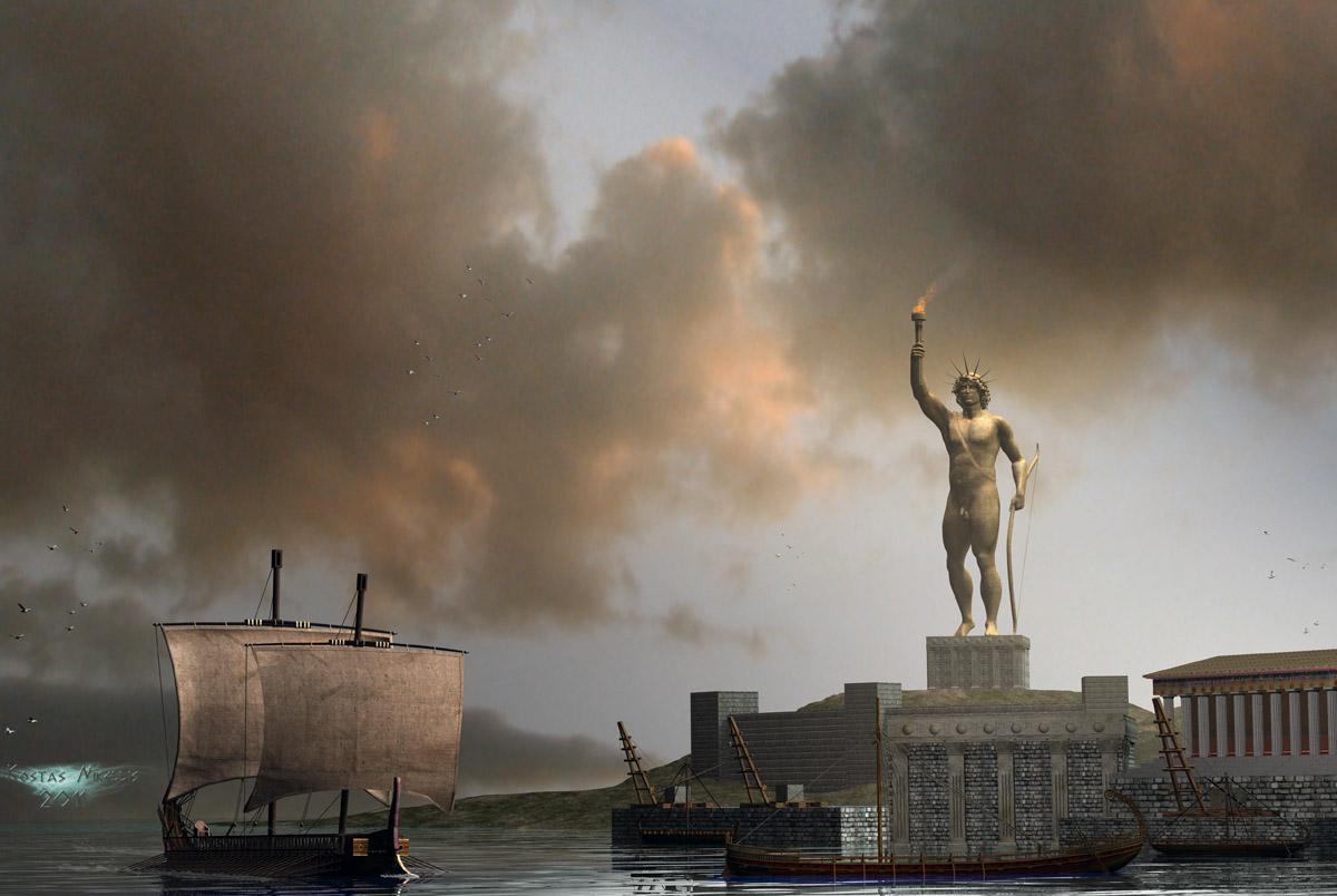 Port of Rhodes by kosv01