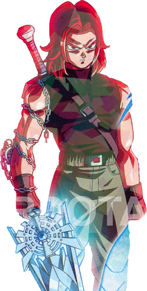 Xeno Trunks Ssj god by Saiyanking02 on DeviantArt