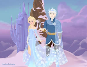 Jelsa Snow king and queen