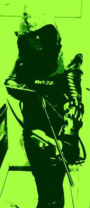 Arrow in Green by PxRxSxRx