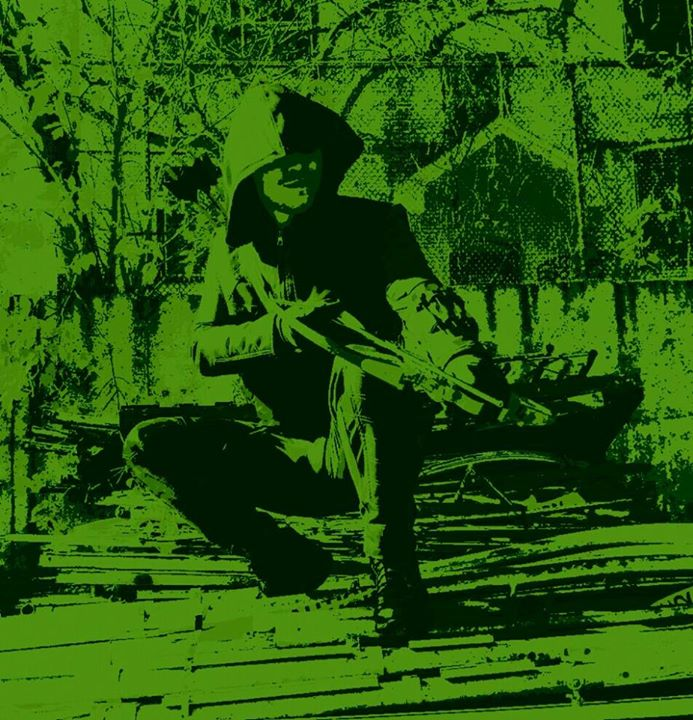 Arrow in Green II by PxRxSxRx
