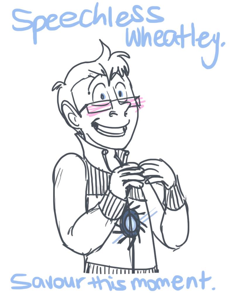 Speechless Wheatley by wacky-w