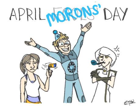 April Moron's Day by wacky-w