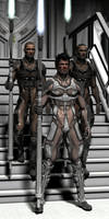 king's guards by Flinog