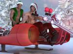 take a ride ... with Santa