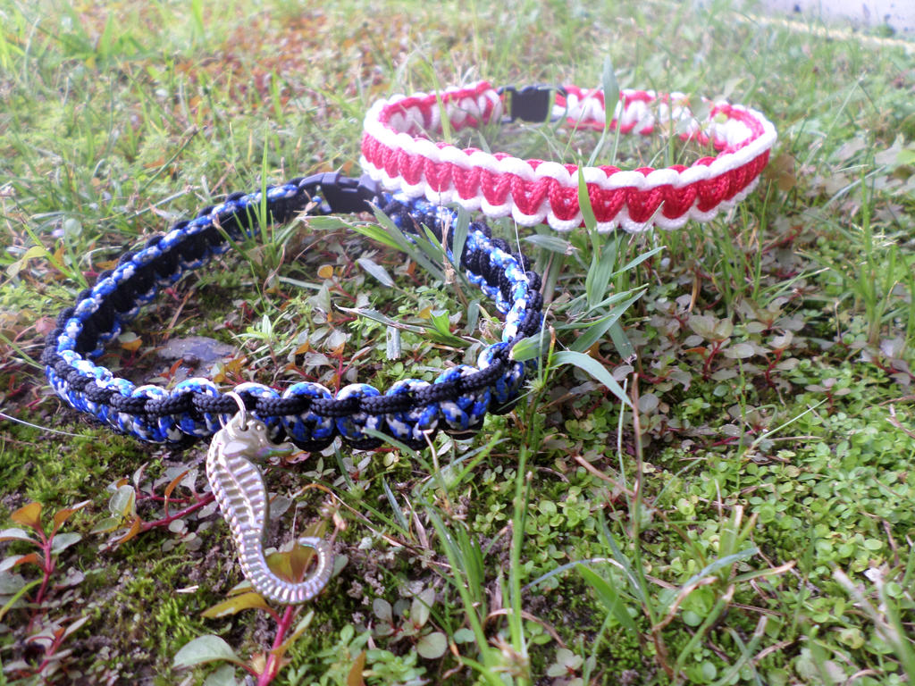 Made to order paracord chokers by darkenedsoul333 on for Paracord wallpaper