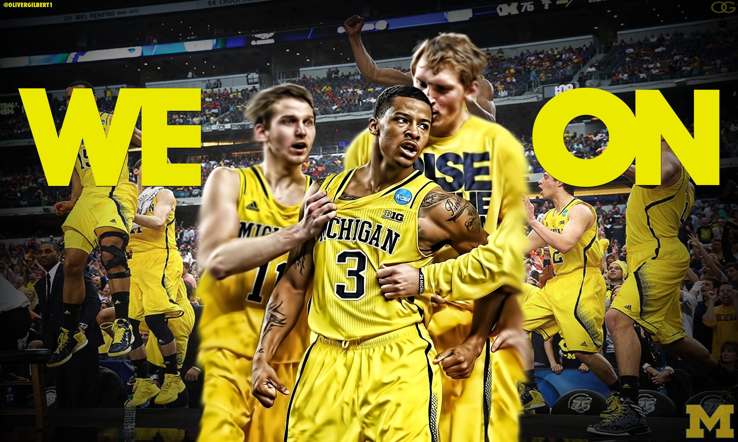 WE ON Trey Burke Michigan Wolverines