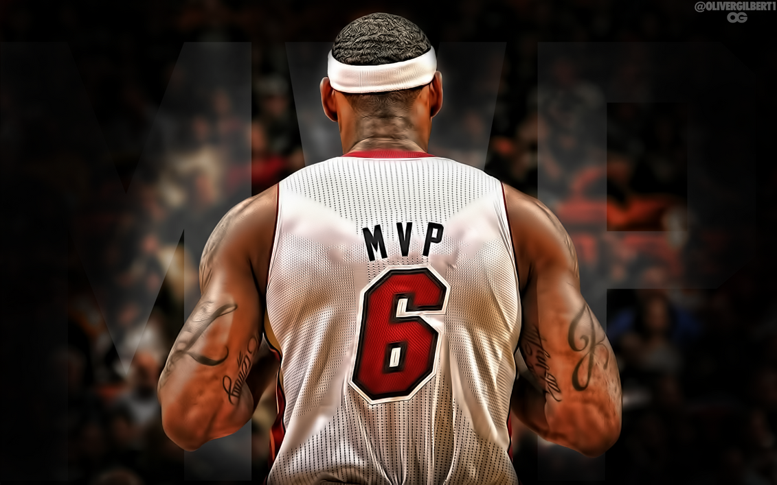 LeBron James 2012/13 MVP by Hecziaa - 109.4KB